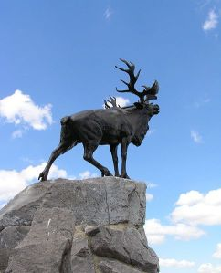 Memorial in Beaumont Hamel, France.
